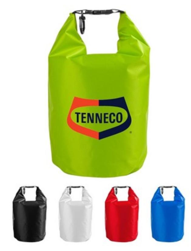 screen printed waterproof drybag from reno tahoe promotions