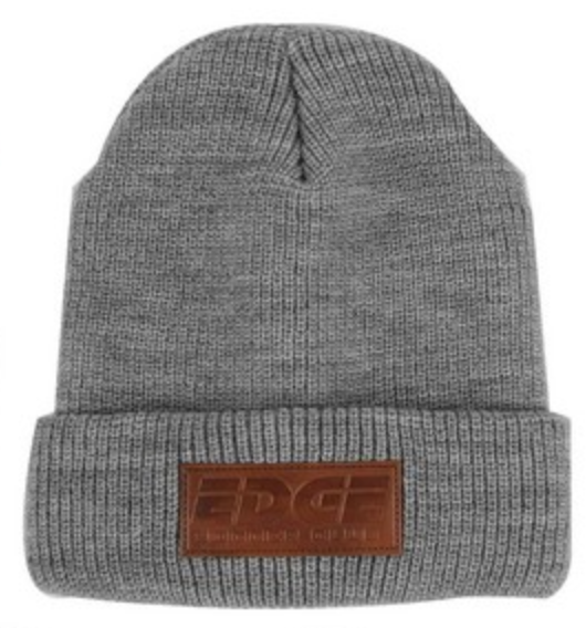 leatherette patch uniform beanie for truckee tahoe winters