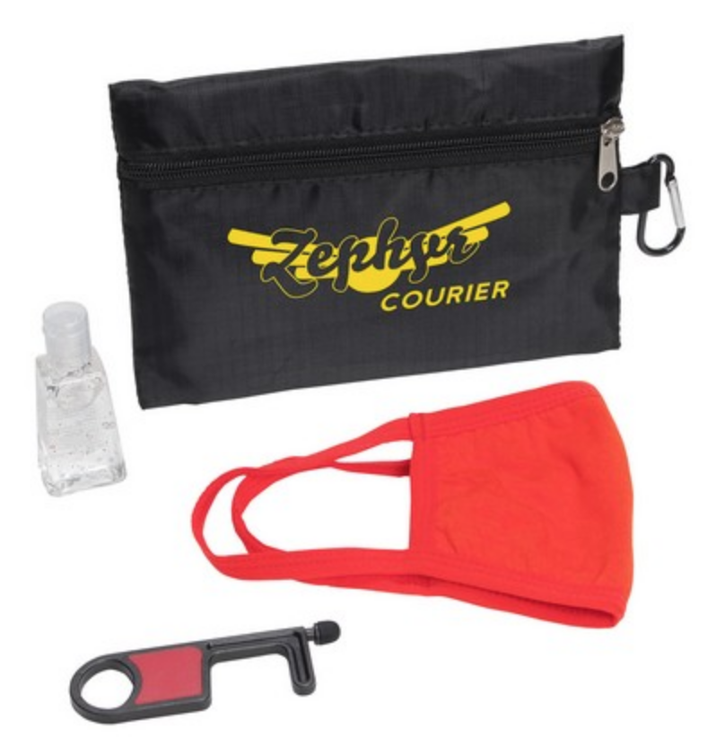 screen-printed-PPE-bag-and-kit-from-reno-tahoe-promotions