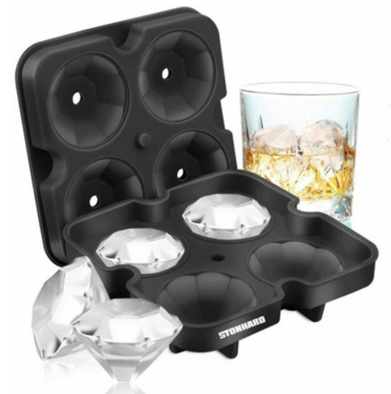 branded diamond ice cube tray from reno tahoe promotions