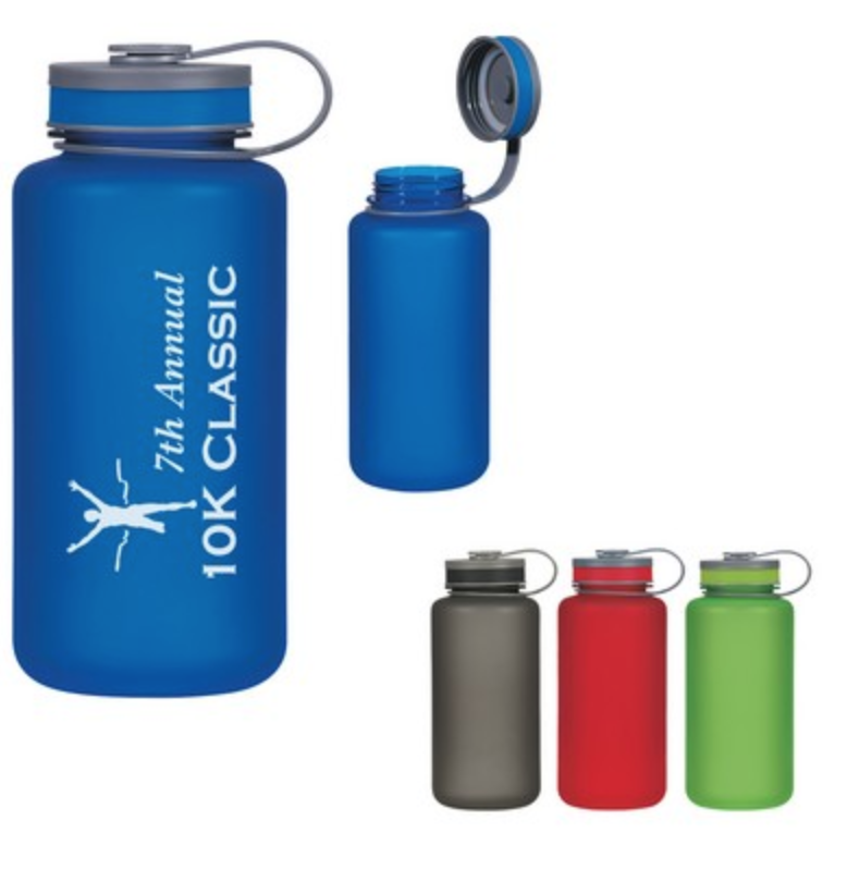 screen printed water bottle from reno tahoe promotions