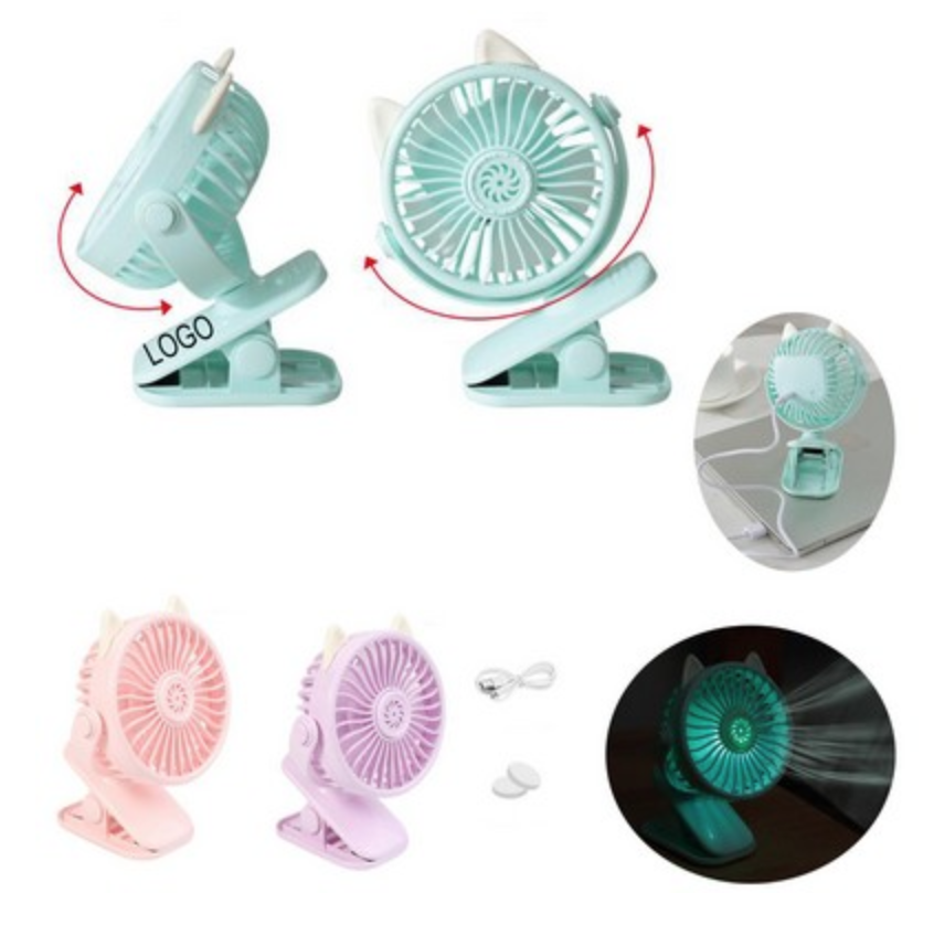 classic portable battery clip fan from reno tahoe promotions