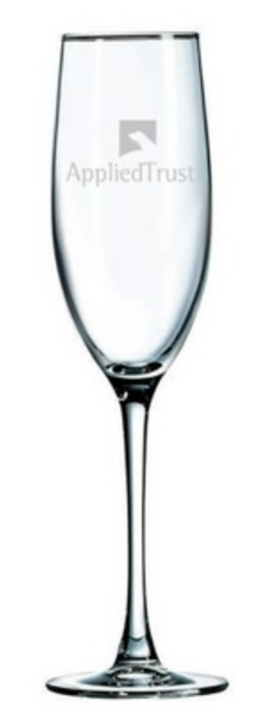 personalized wedding champagne glass for reno tahoe truckee weddings