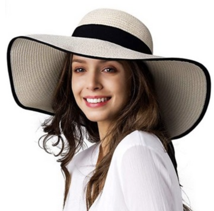 reno tahoe promotions wide brim sun hat with printed ribbon