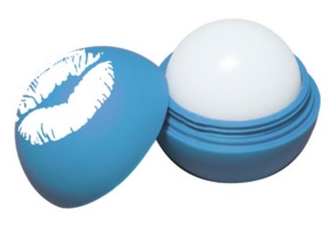 scented round lip balm stocking stuffer