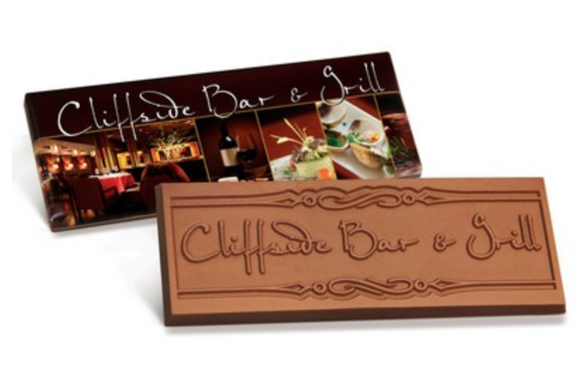 personalized chocolate bar from reno tahoe promotions