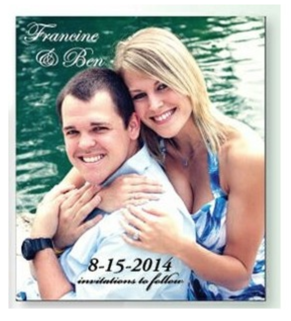 save the date magnet from reno tahoe promotions