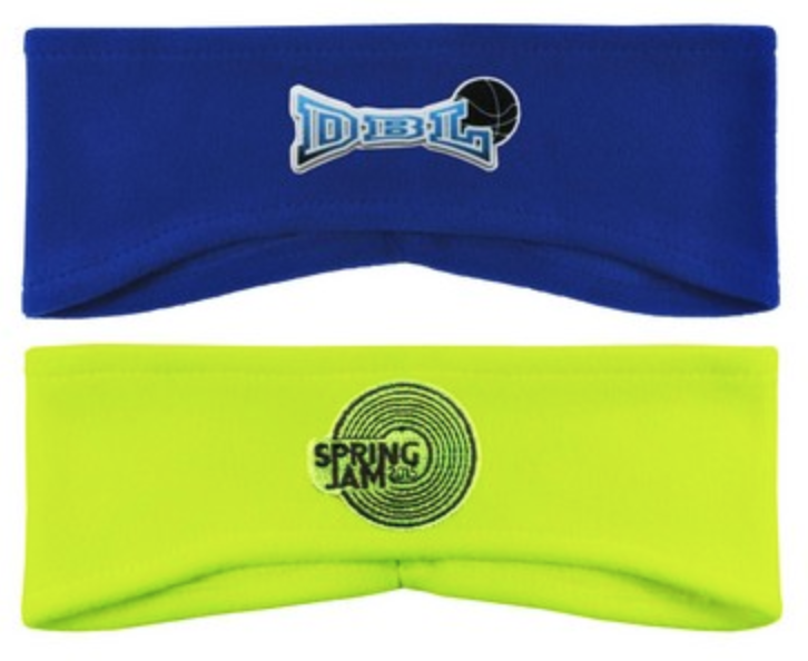 lightweight embroidered fleece earbands for tahoe truckee uniforms