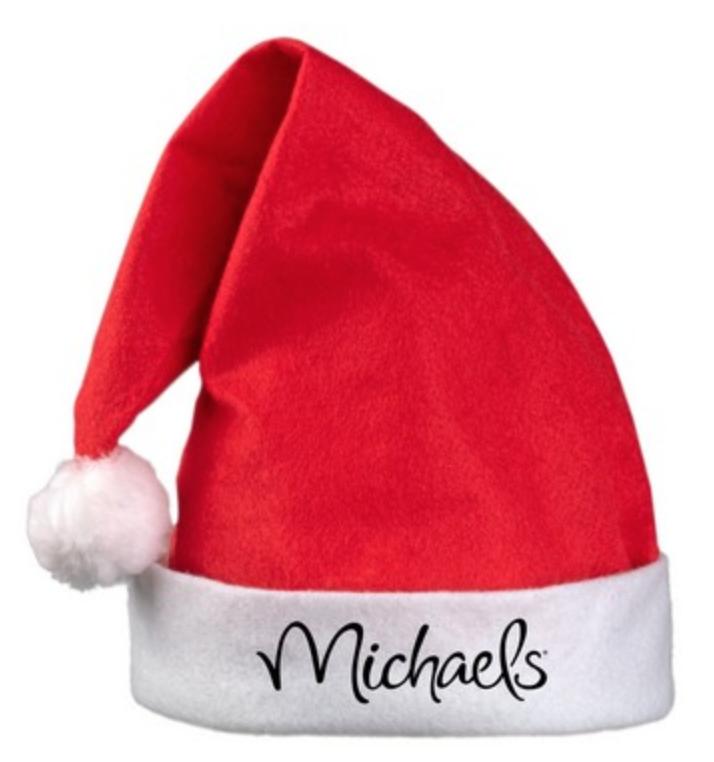 logo santa hat