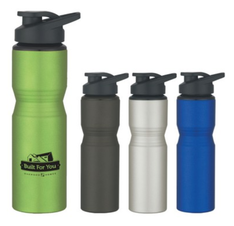 aluminum sports bottle from reno tahoe promotions