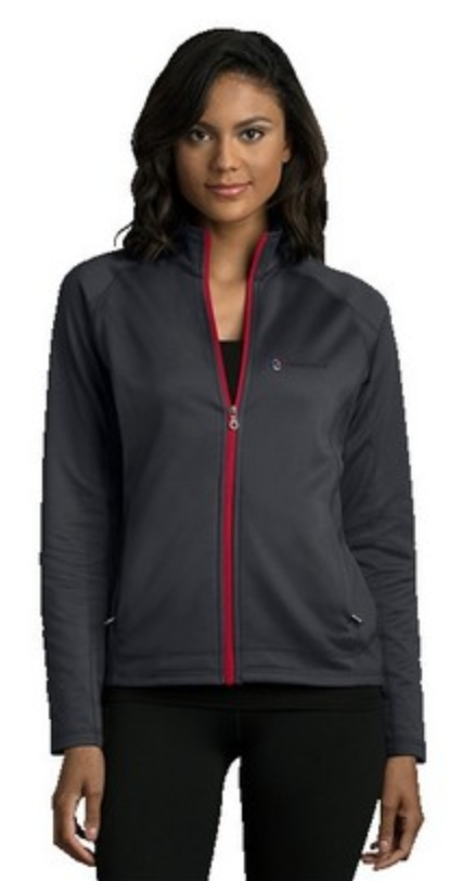 womens embroidered athletic jacket from reno tahoe promotions