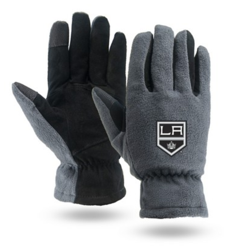 touchstone winter fleece and leather lined gloves as tahoe employee gift