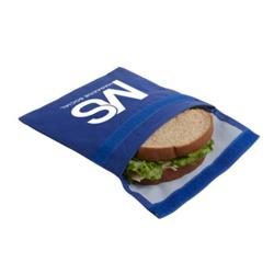 reusable screen printing sandwich bag