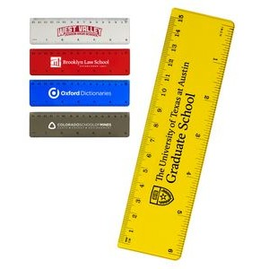 "Translucent 6"" Ruler"