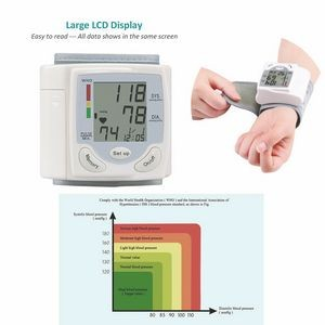 Health Care Wrist Blood Pressure Monitor