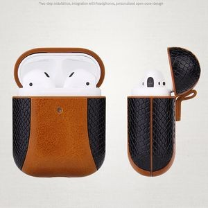 Leather Case for AirPods 1 & 2