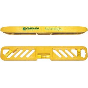 "Yellow Plastic Torpedo Level (9"")"