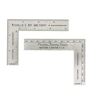 "Hobby ""L"" Square English & Metric Measurements"