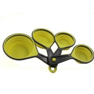 Set of 4 Collapsible Silicone Measuring Cups